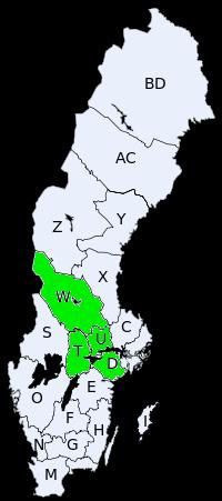 SverigeRegionSvealand